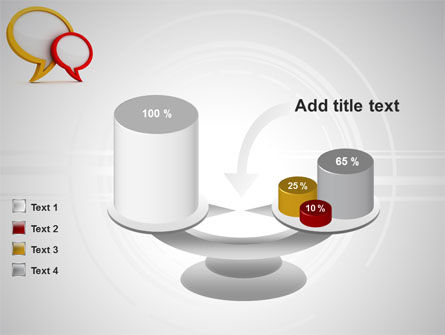 Dialog Bubbles PowerPoint Template Slide 10