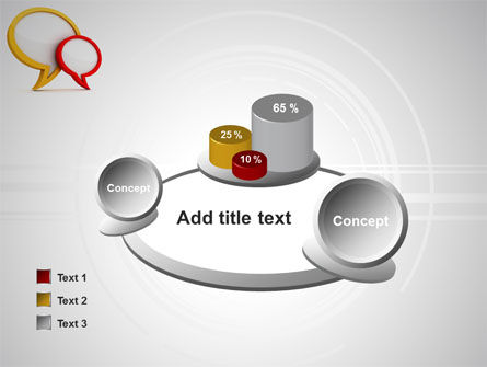 Dialog Bubbles PowerPoint Template Slide 16
