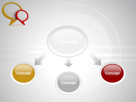 Dialog Bubbles PowerPoint Template Slide 4