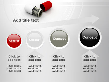 Money Pill PowerPoint Template Slide 13