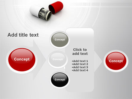 Money Pill PowerPoint Template Slide 17