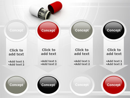 Money Pill PowerPoint Template Slide 18