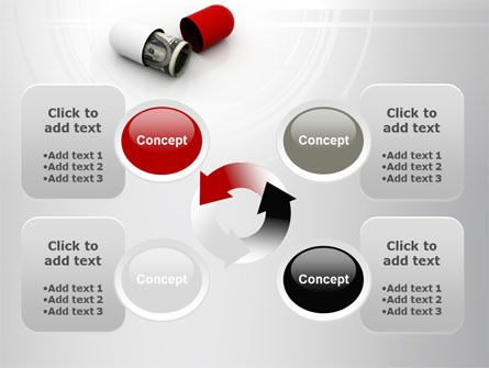 Money Pill PowerPoint Template Slide 9