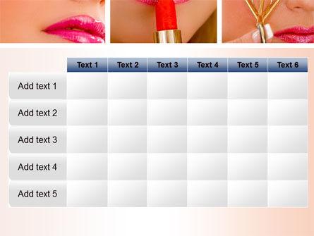 Makeup PowerPoint Template Slide 15