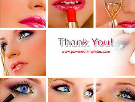 Makeup PowerPoint Template Slide 20