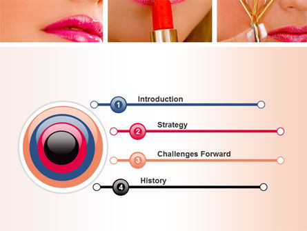 Makeup PowerPoint Template Slide 3