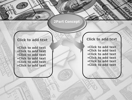 Budget Puzzle PowerPoint Template, Slide 4, 10617, Financial/Accounting — PoweredTemplate.com