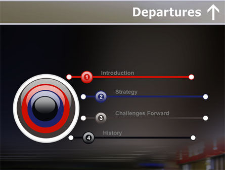 Departures PowerPoint Template, Slide 3, 10619, Cars and Transportation — PoweredTemplate.com