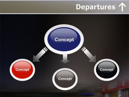 Departures PowerPoint Template, Slide 4, 10619, Cars and Transportation — PoweredTemplate.com