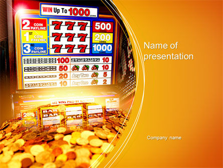 Careers/Industry: Gambling PowerPoint Template #10620
