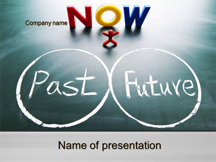 Crossroads of Time PowerPoint Template