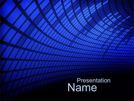 Abstract/Textures: Equalizer PowerPoint Template #10622