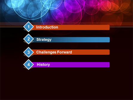 Light Color Spots PowerPoint Template Slide 3
