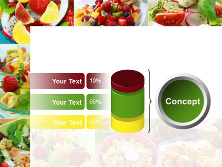 Salads PowerPoint Template Slide 11