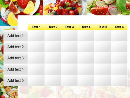 Salads PowerPoint Template Slide 15
