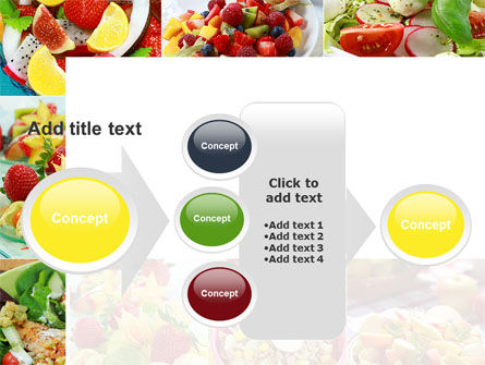 Salads PowerPoint Template Slide 17
