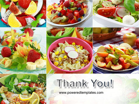 Salads PowerPoint Template Slide 20