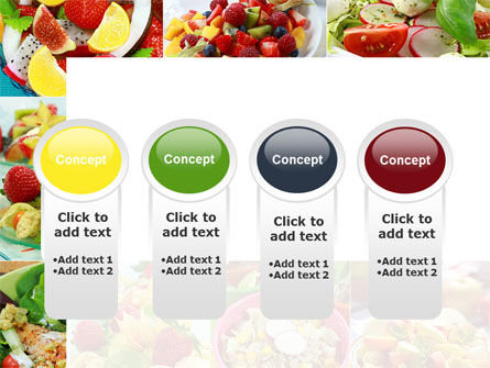 Salads PowerPoint Template Slide 5