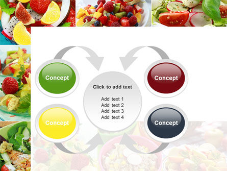 Salads PowerPoint Template Slide 6
