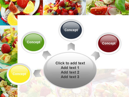 Salads PowerPoint Template Slide 7