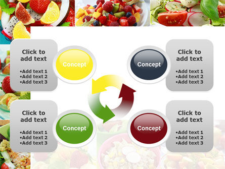 Salads PowerPoint Template Slide 9