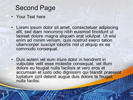 Chip Design PowerPoint Template, Slide 2, 10627, Technology and Science — PoweredTemplate.com