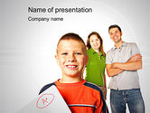 Education & Training: A-level Result PowerPoint Template #10628
