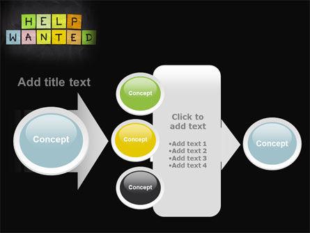 Help Wanted on Blackboard PowerPoint Template Slide 17