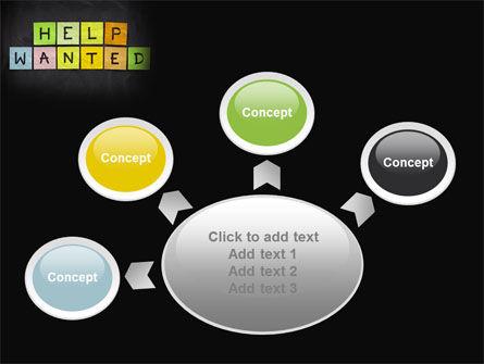 Help Wanted on Blackboard PowerPoint Template Slide 7