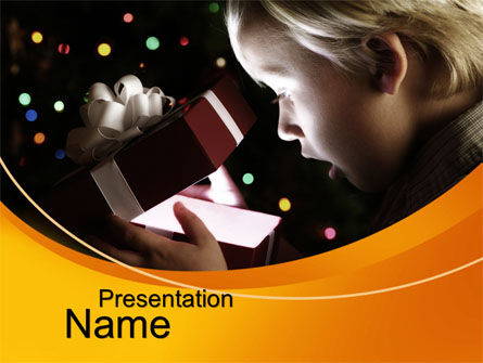 Holiday/Special Occasion: Surprising PowerPoint Template #10631