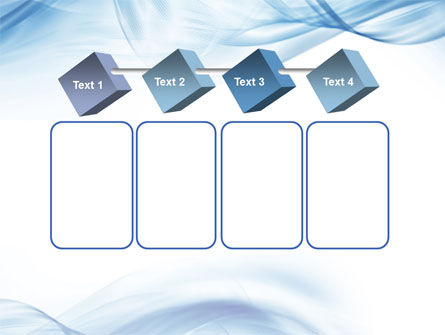 Blue on White PowerPoint Template Slide 18