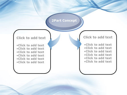 Blue on White PowerPoint Template Slide 4