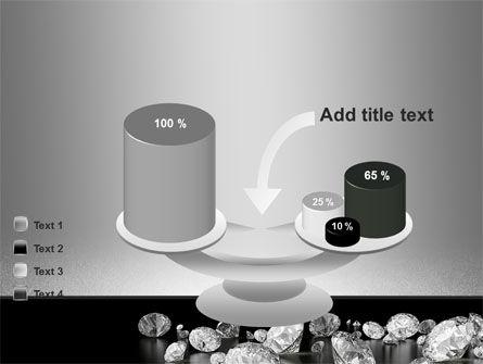 Sprinkle of Diamonds PowerPoint Template Slide 10