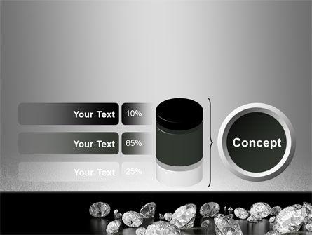 Sprinkle of Diamonds PowerPoint Template Slide 11