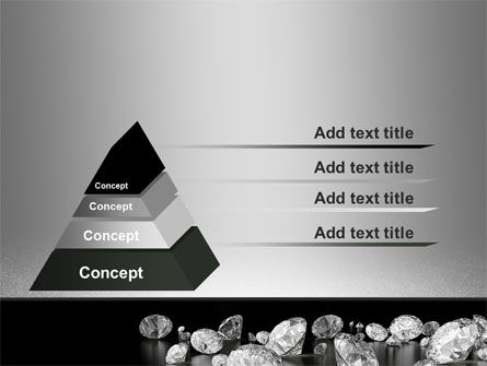 Sprinkle of Diamonds PowerPoint Template Slide 12