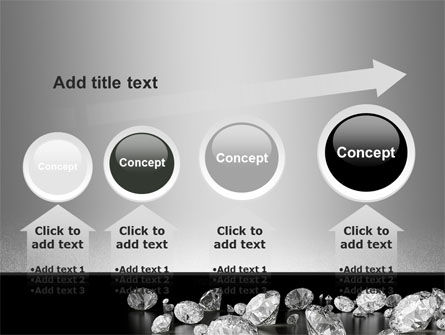 Sprinkle of Diamonds PowerPoint Template Slide 13