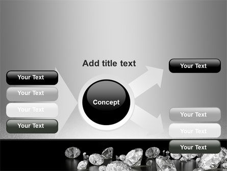 Sprinkle of Diamonds PowerPoint Template Slide 14