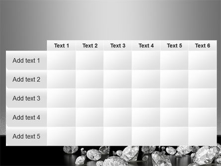 Sprinkle of Diamonds PowerPoint Template Slide 15