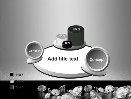 Sprinkle of Diamonds PowerPoint Template Slide 16