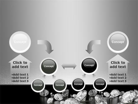 Sprinkle of Diamonds PowerPoint Template Slide 19