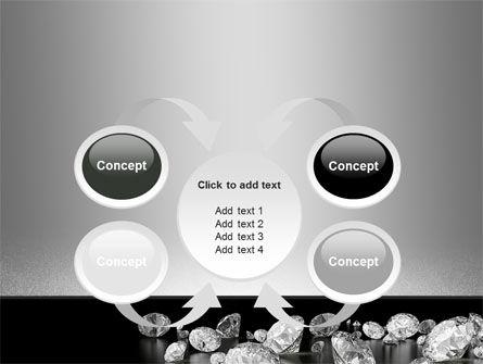 Sprinkle of Diamonds PowerPoint Template Slide 6