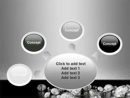 Sprinkle of Diamonds PowerPoint Template Slide 7