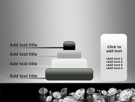 Sprinkle of Diamonds PowerPoint Template Slide 8
