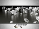 Careers/Industry: ダイヤモンドのまわり - PowerPointテンプレート #10636