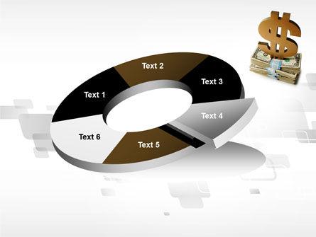 Dollar Pedestal PowerPoint Template Slide 19
