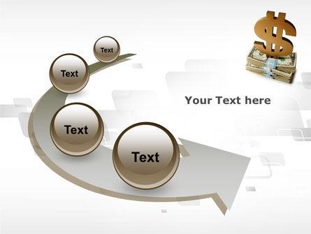 Dollar Pedestal PowerPoint Template Slide 6