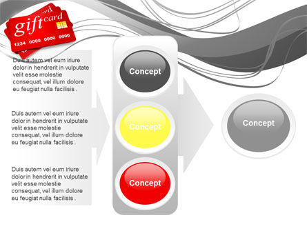 Gift Card PowerPoint Template Slide 11