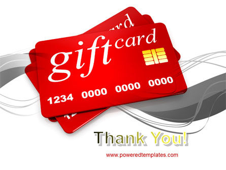 Gift Card PowerPoint Template Slide 20