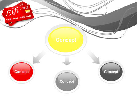 Gift Card PowerPoint Template Slide 4