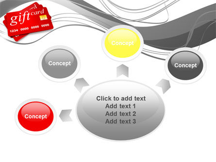 Gift Card PowerPoint Template Slide 7